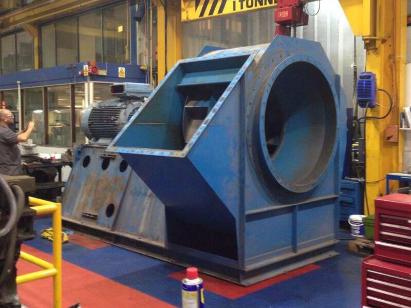 Industrial Fan Repair & Refurbishment