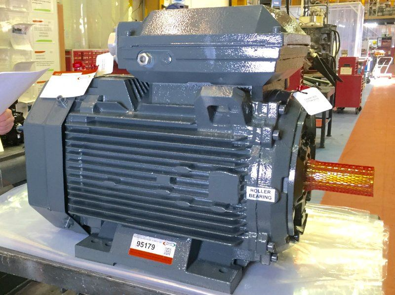 Comparing a repair versus new for an electric motor. Which is better?