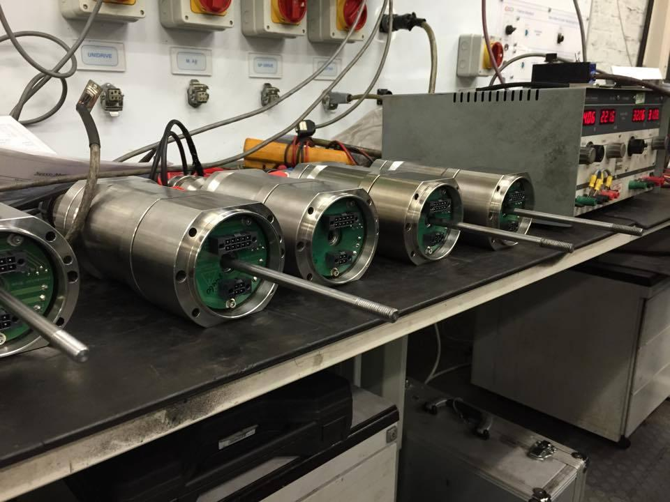 Refurbishing Zalkin capper motors