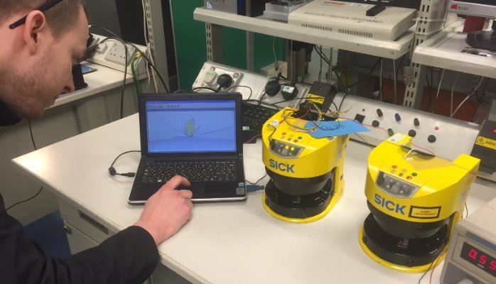 Safety laser scanner repair & refurbishment