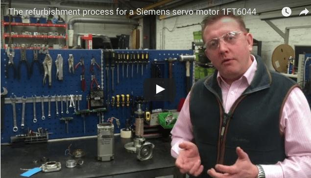 Watch How a Servo Motor is Refurbished