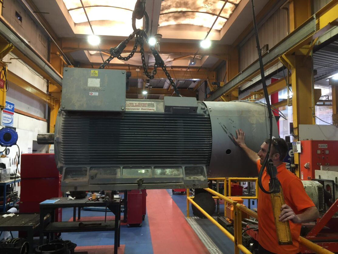 Rotating machine repair and refurbishment